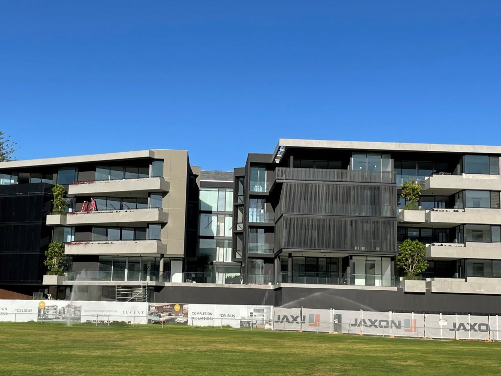 Lucent Claremont nears completion with just 2 apartments unsold!